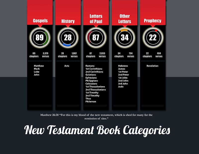 New Testament book categories